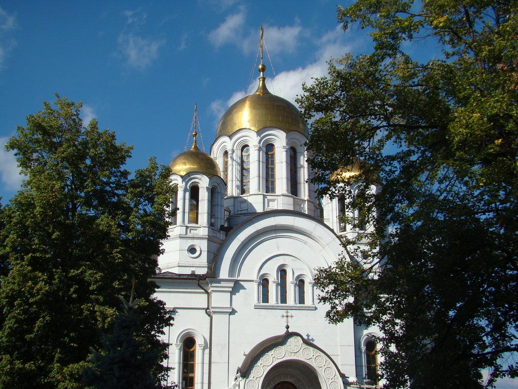 Храм Георгия Победоносца - марина ковшова
