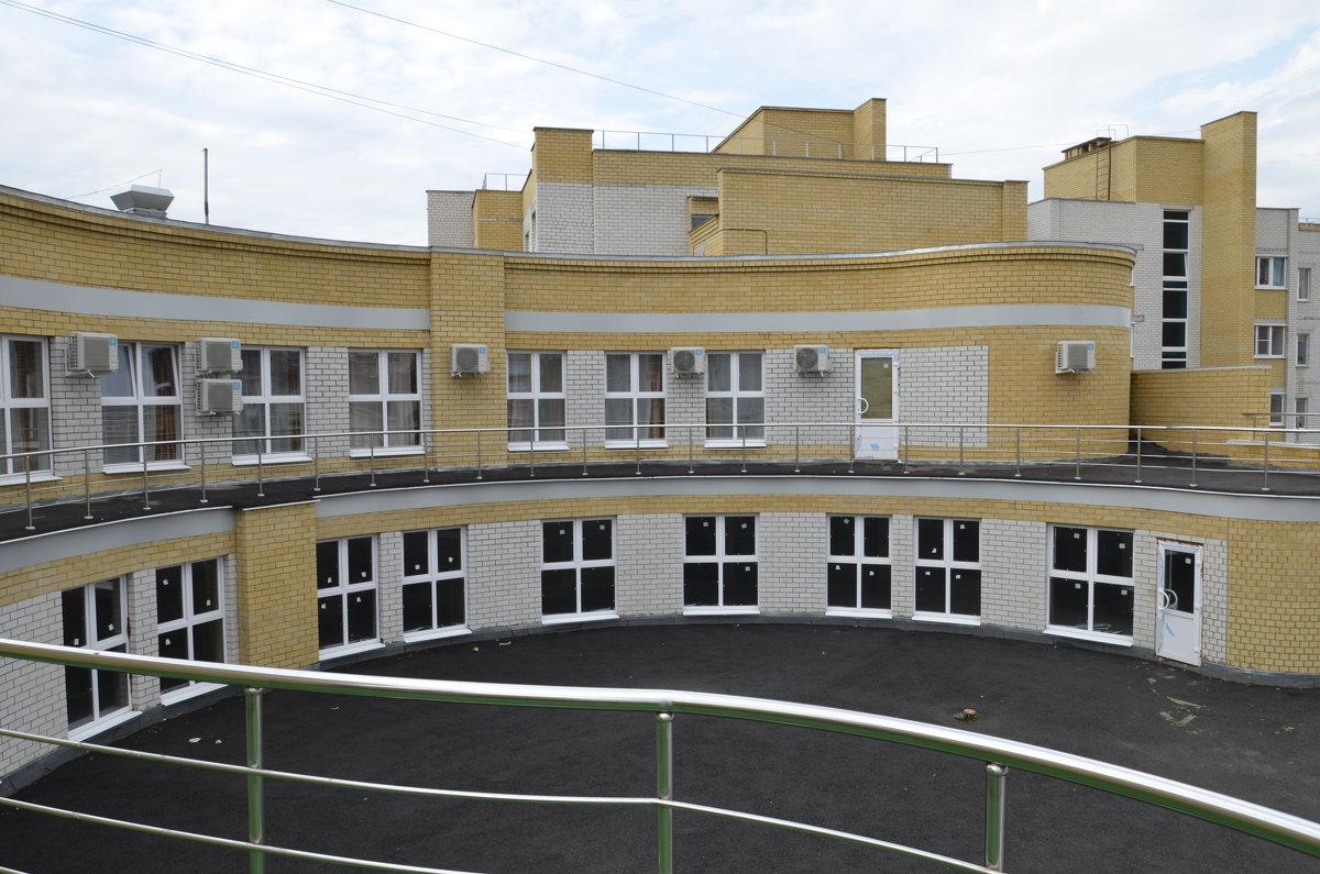 балкон гостиницы в Воронежской обл. - Михаил Радин