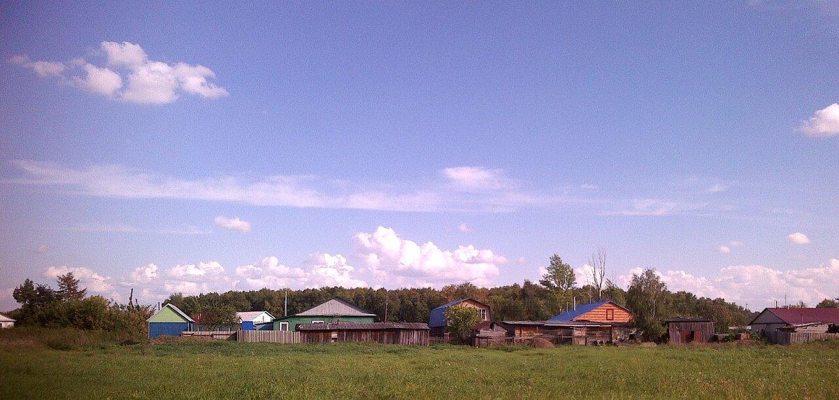 Сибирская деревня - Елена *
