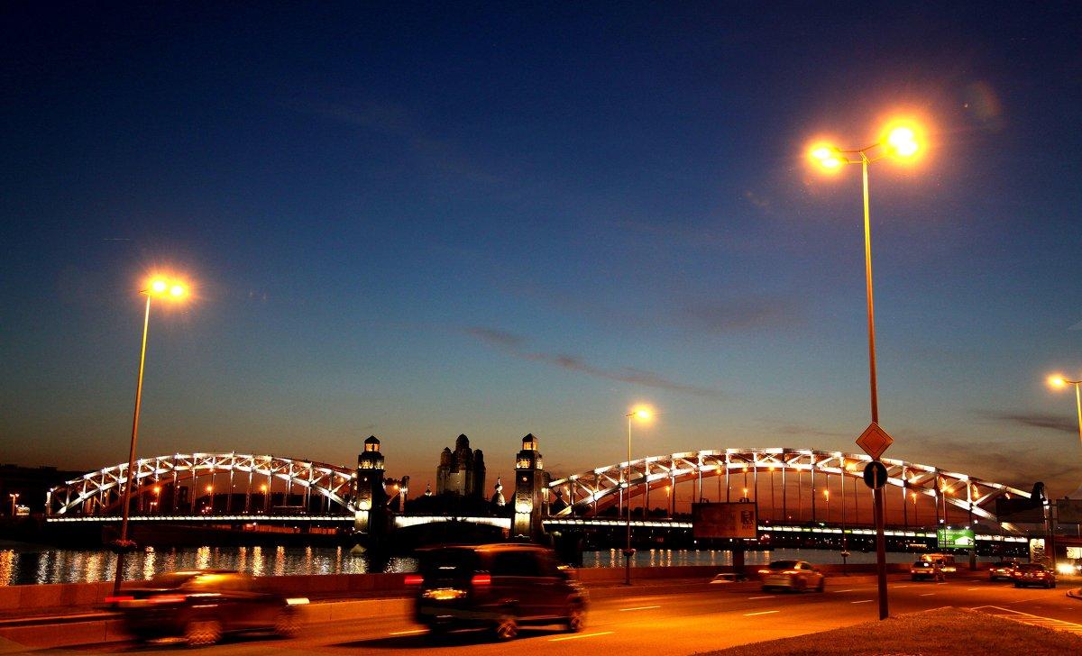 Мост Петра Великого. Питер - Наталья