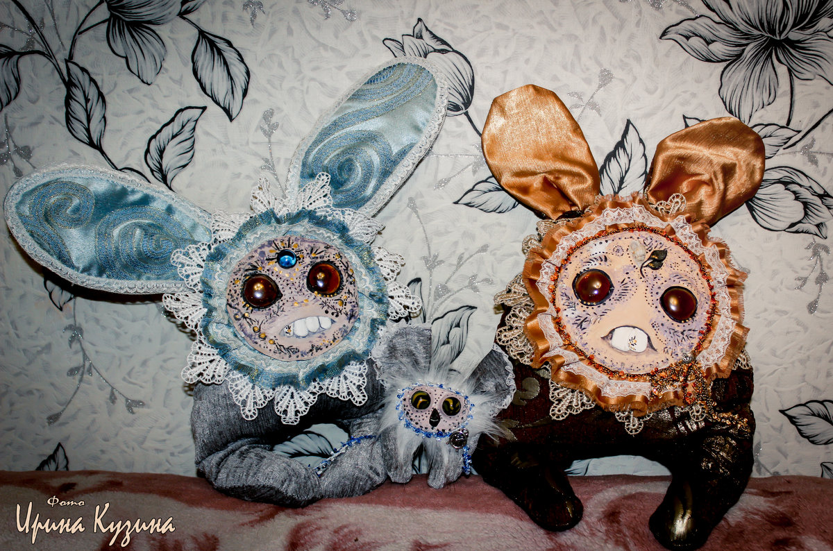 "Милые монстрики ""Ханники""2015 - Ирина Кузина"