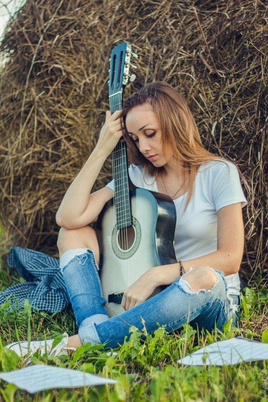 Изгиб гитары... - Ольга Микова