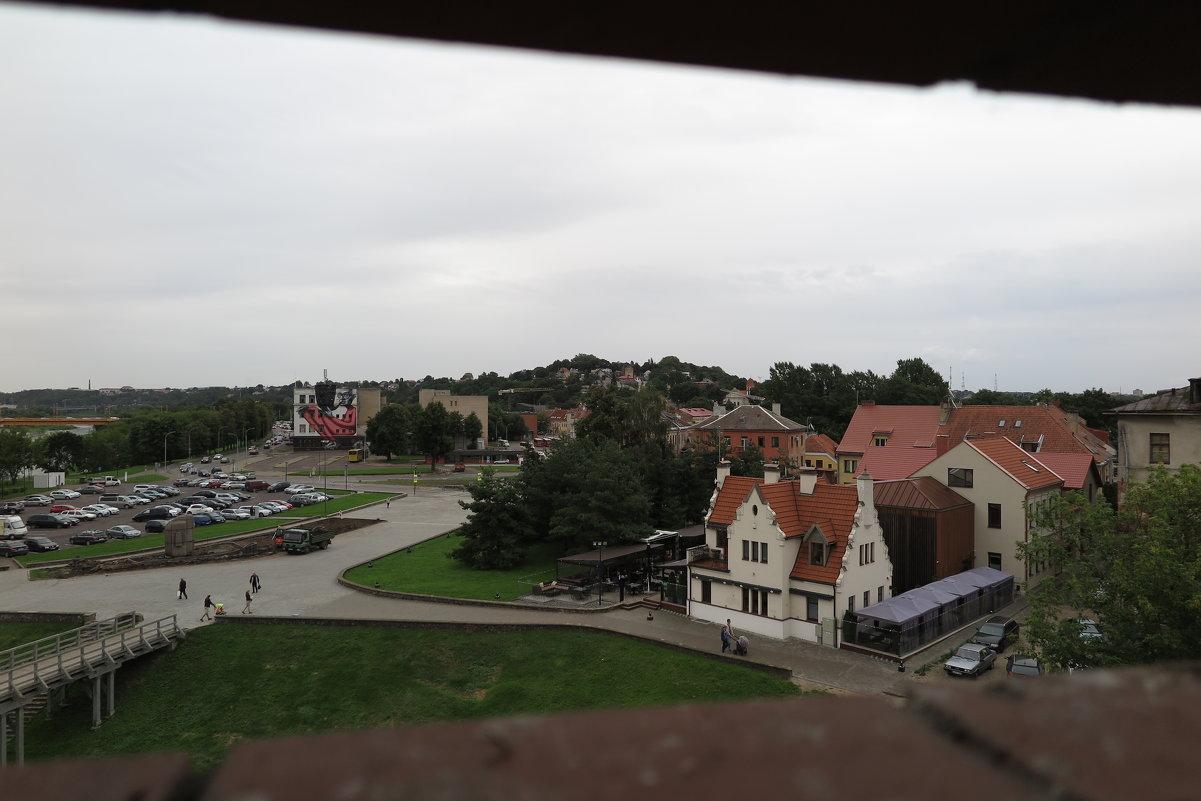 Вид из башни Каунасского замка - Оксана Кошелева