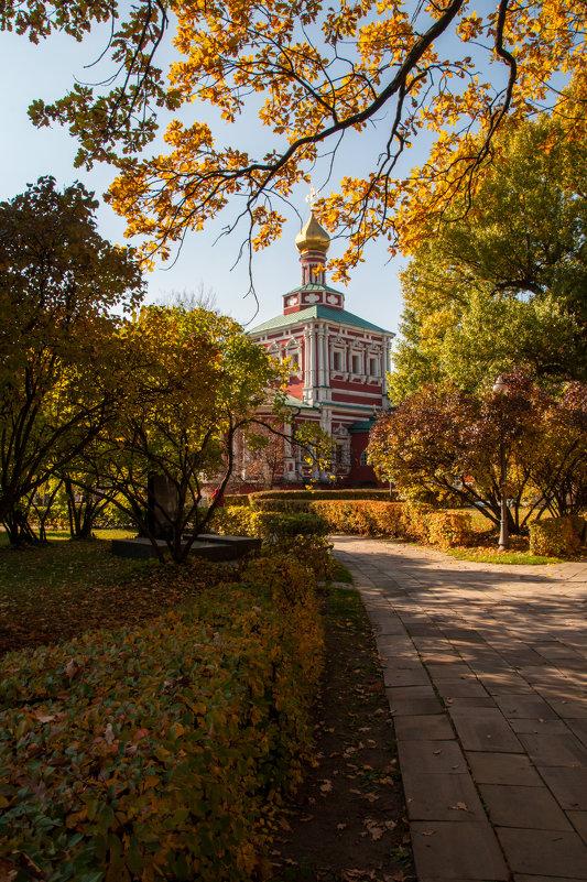 Золотая осень в Новодевичьем - Alexander Petrukhin