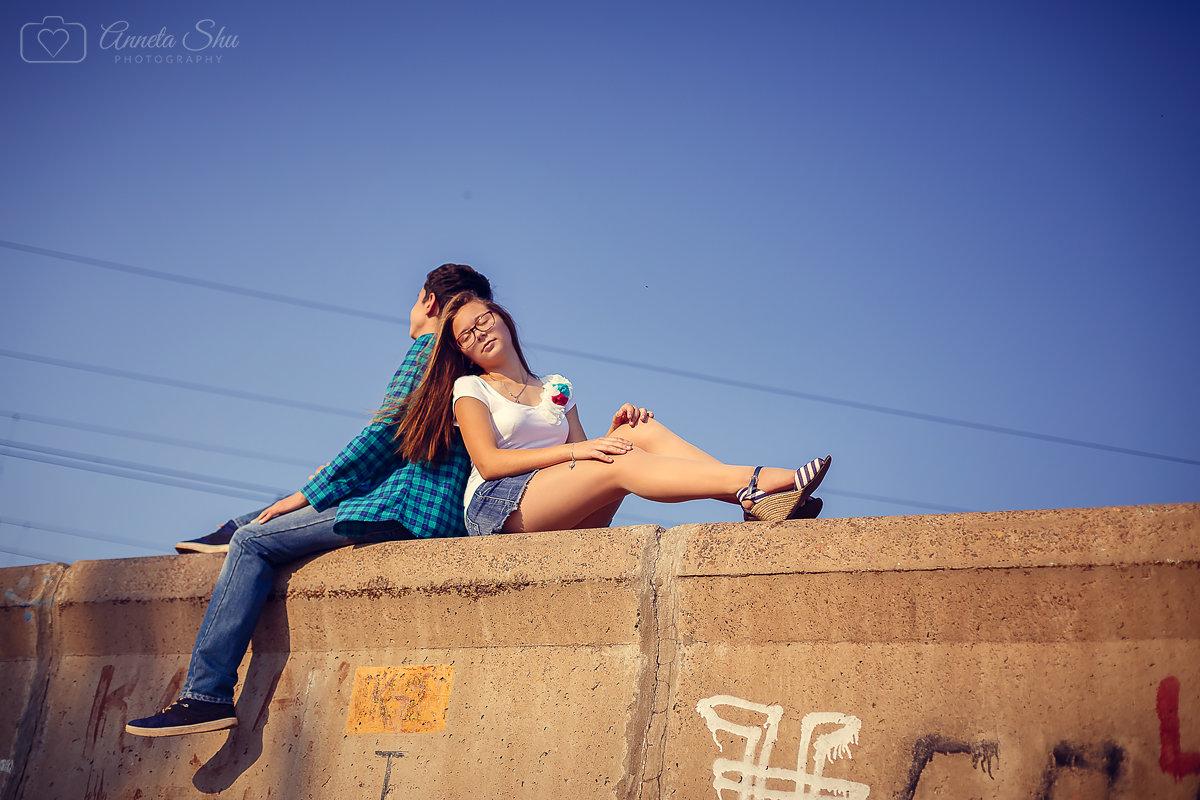 Славные ребята) первая любовь, так приятно снимать такие фотосеты))) - Аннета /Анна/ Шу