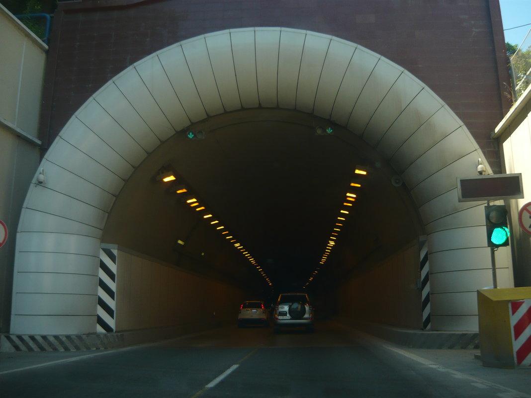 Въезжаем в туннель - Надежда