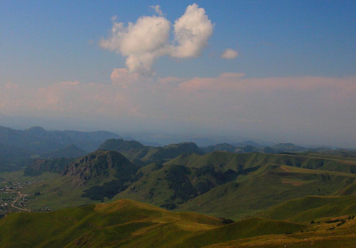 Верхняя Мара. Гора Кёкле-Кая (Синяя скала) - Vladimir 070549