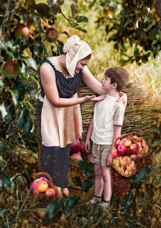 Мальчик-с-пальчик в саду - Нина