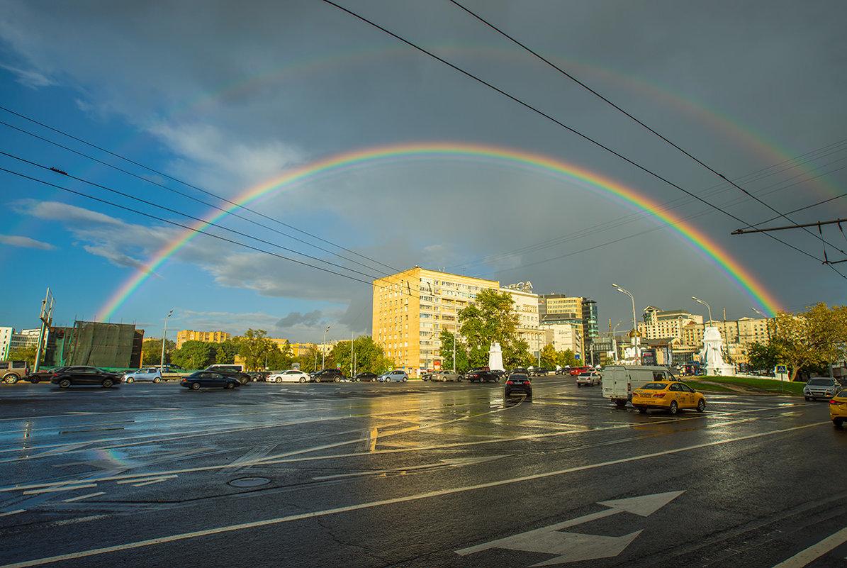 Радуга над Москвой - Игорь Герман