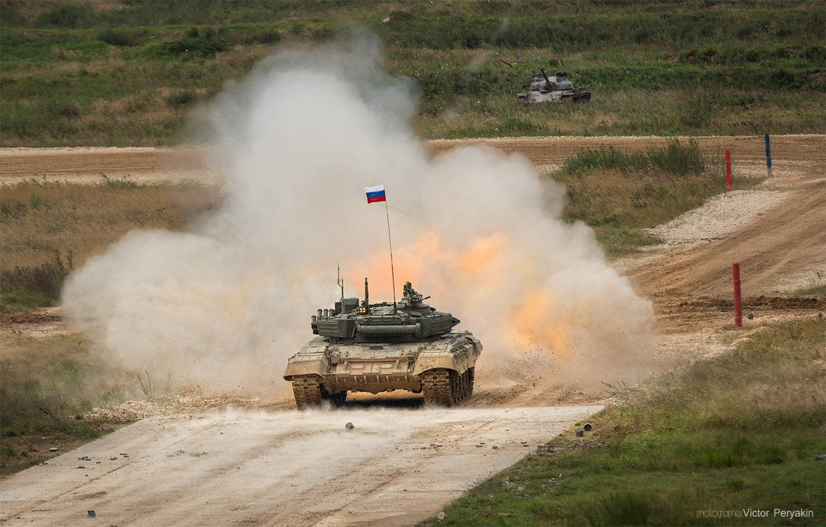 Залп танка - Виктор Перякин