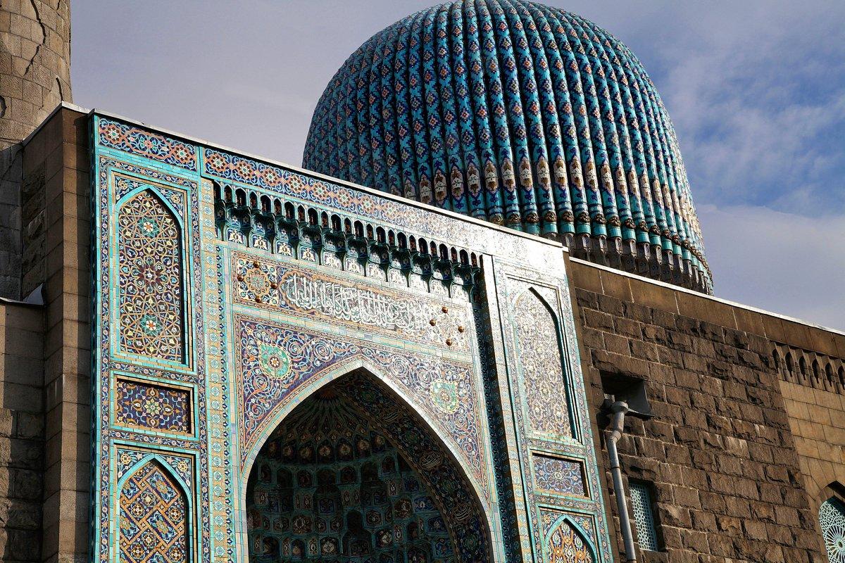 Мечеть в Питере. Фрагмент - Наталья