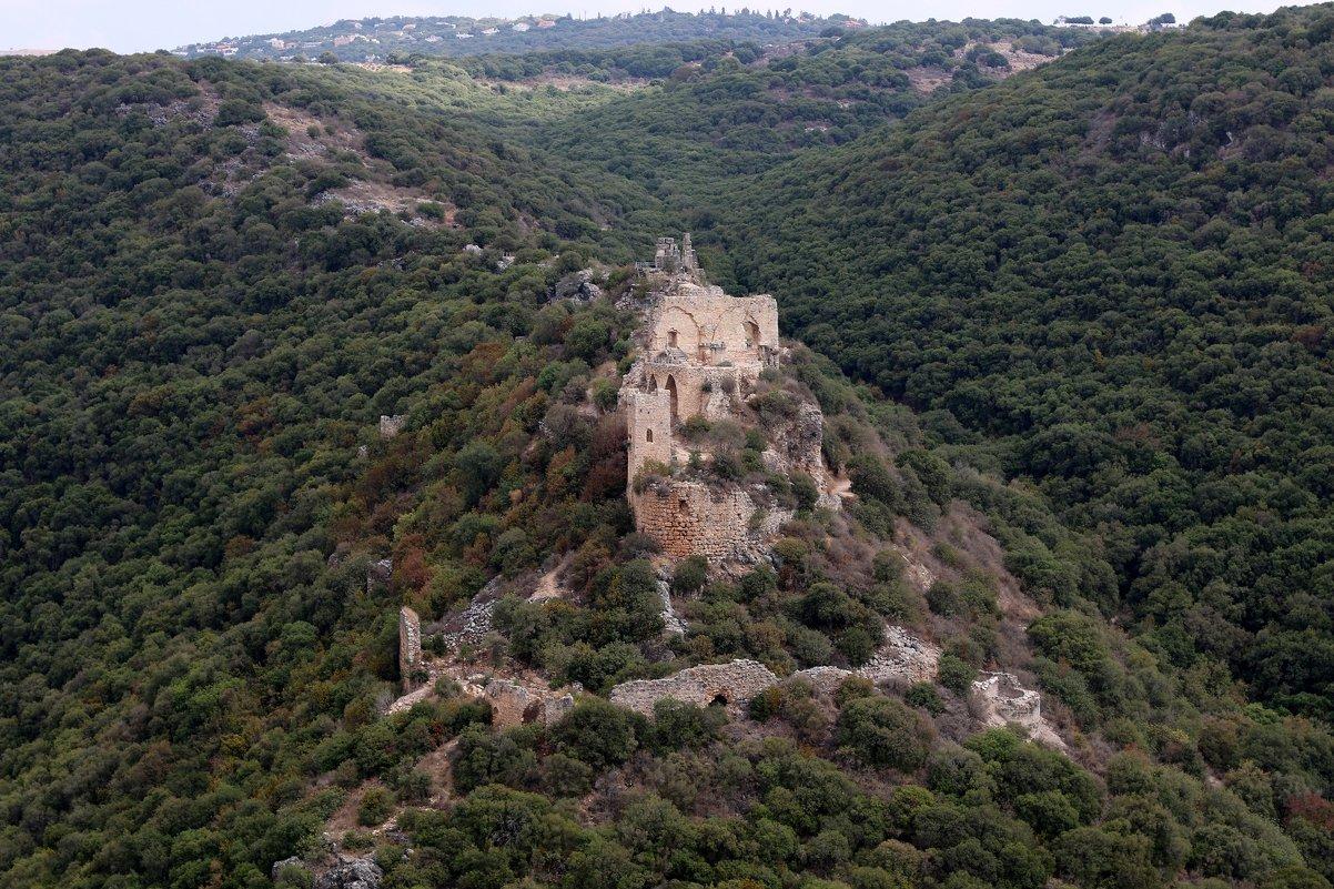 Замок Монфор — замок крестоносцев, расположенный в Верхней Галилее на севере Израиля - vasya-starik Старик