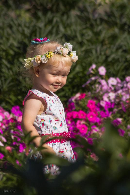 Собирательница цветов - Татьяна Грищук