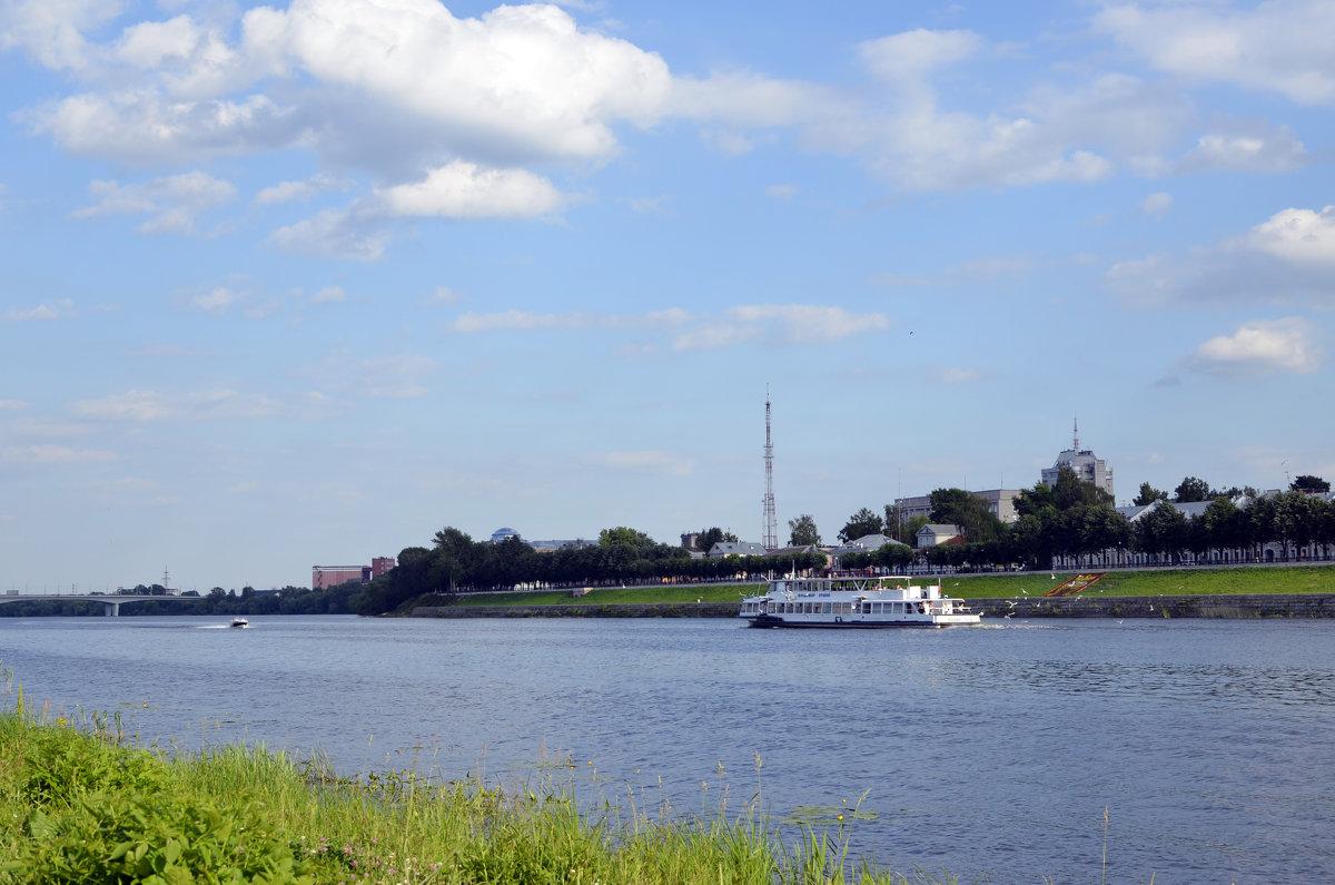 Река Волга в Твери - Ольга Мореходова