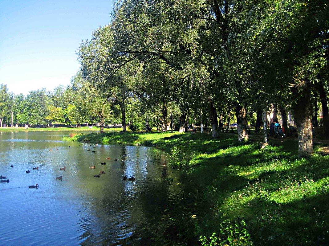 На озере - Елена Семигина