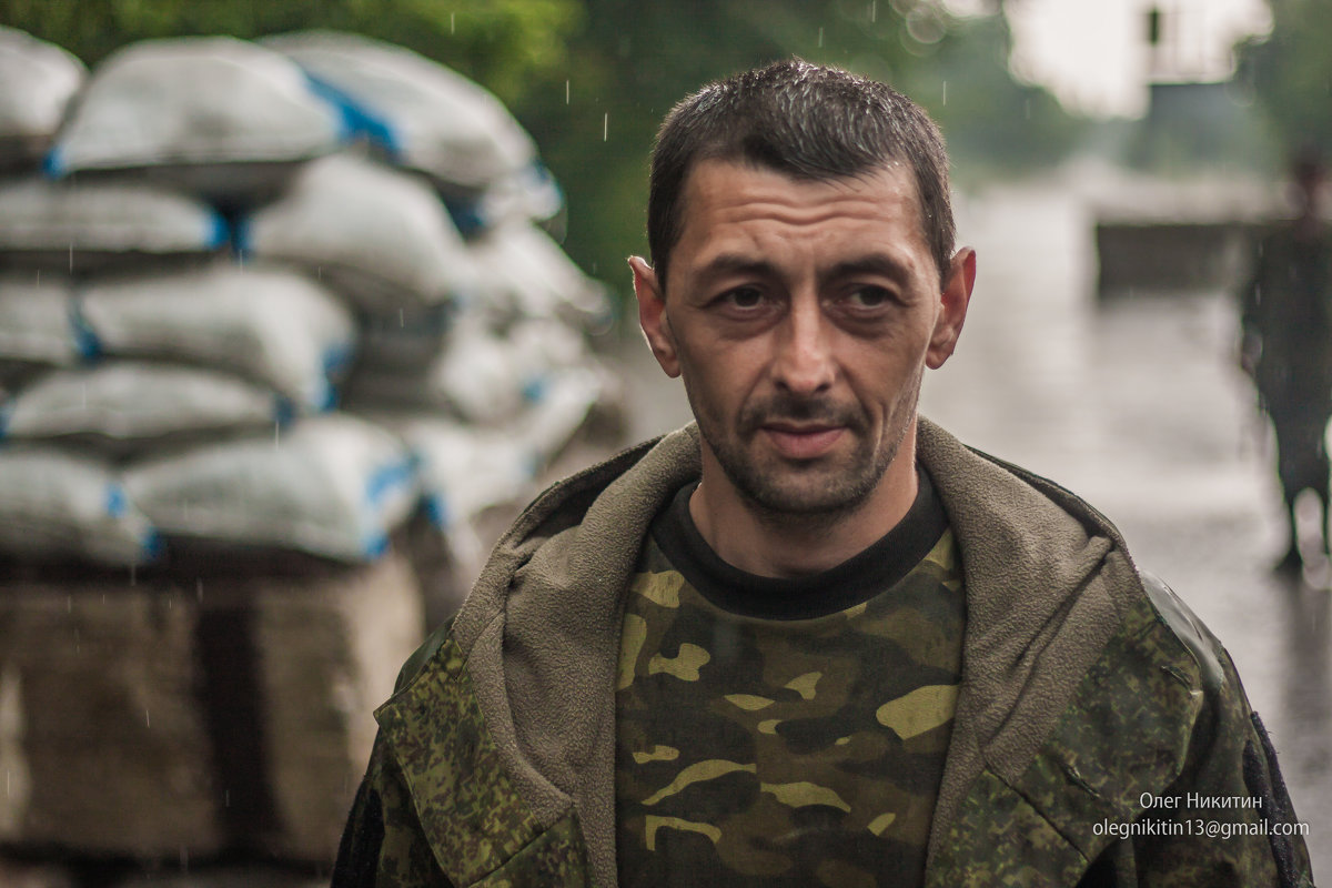 на блокпосту - Олег Никитин