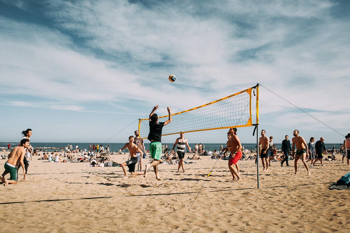 Пляжный волейбол! - Максим Жидков