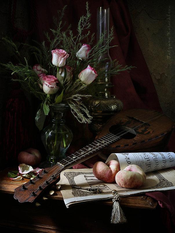 Менуэт для трех персиков - Татьяна Карачкова