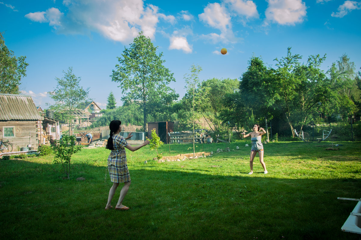 дачный волейбол - evgeniyklimko