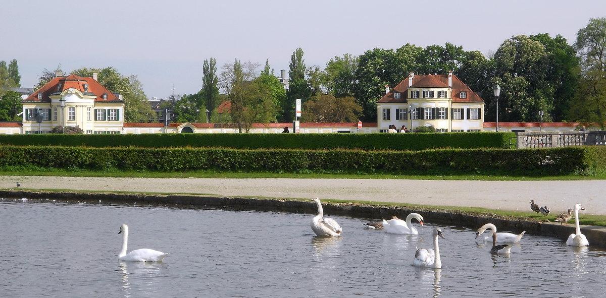 У Нимфенбургского дворца - Елена Пономарева