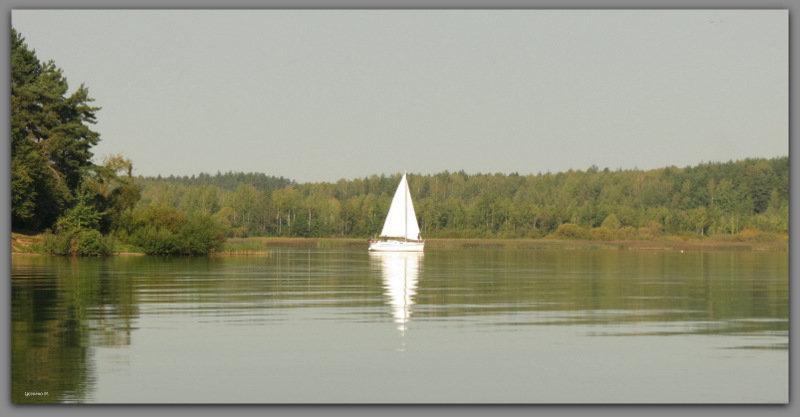 Белый парус - Михаил Цегалко