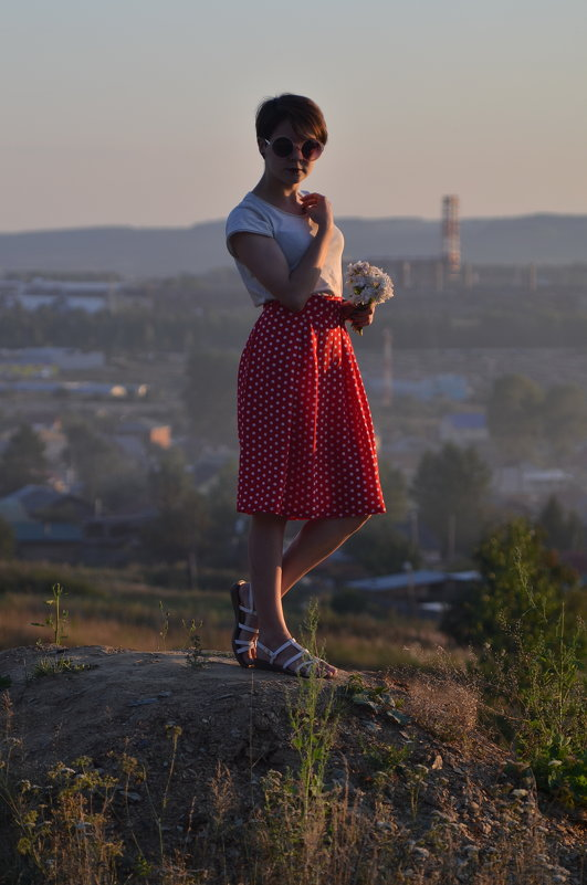 На фоне Первоуральска))) - Лариса Красноперова