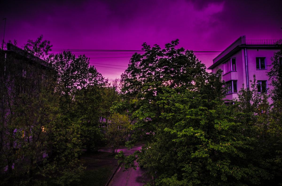 Розовый вечер. - Сергей Сотников