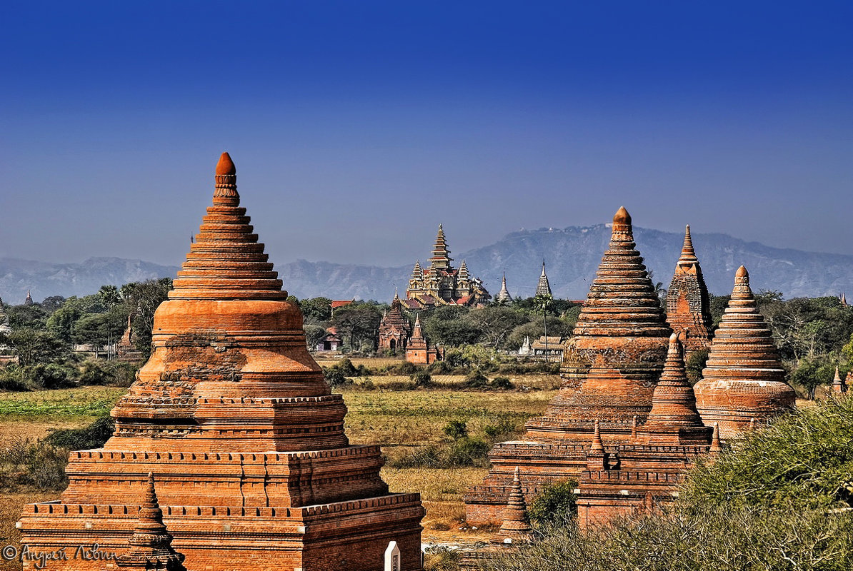 Мьянма. Храмы Старго Багана - Андрей Левин