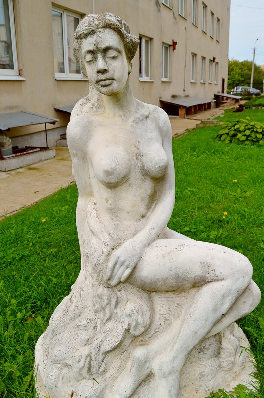 Как же она заснет - она ведь памятник! - Vladimir Semenchukov