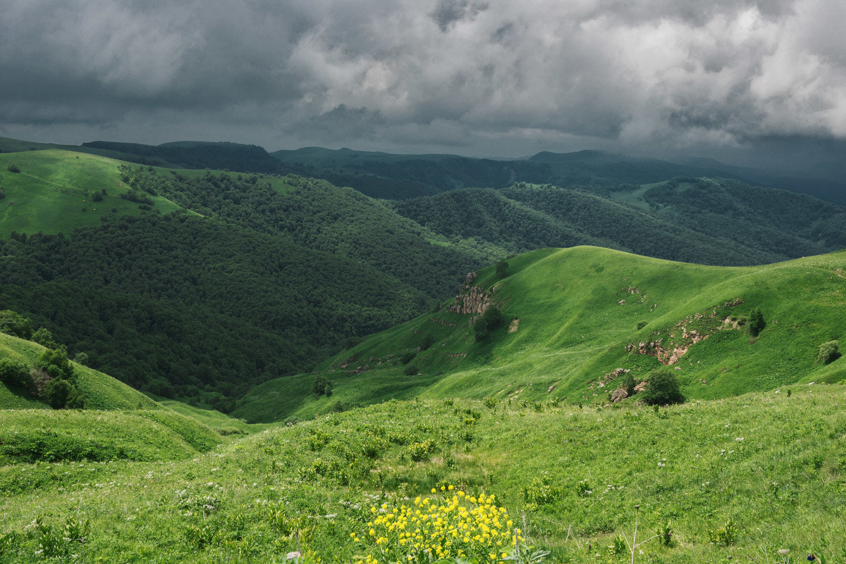 На перевале Гум-Баши - Аnatoly Gaponenko