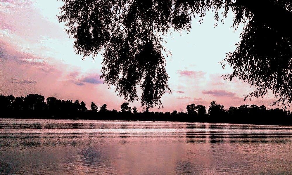 Река Десна на закате (Киевская область) - Наталия Каминская