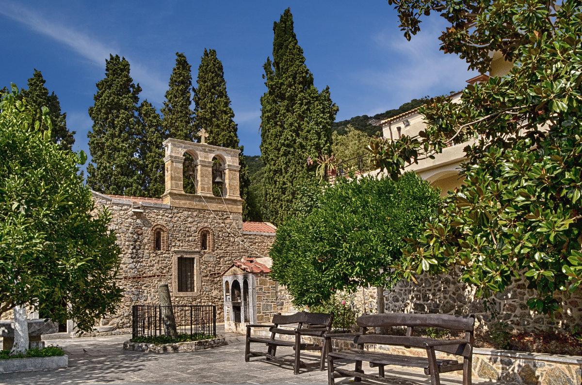 Монастырь Кадриотисса, Крит - Priv Arter