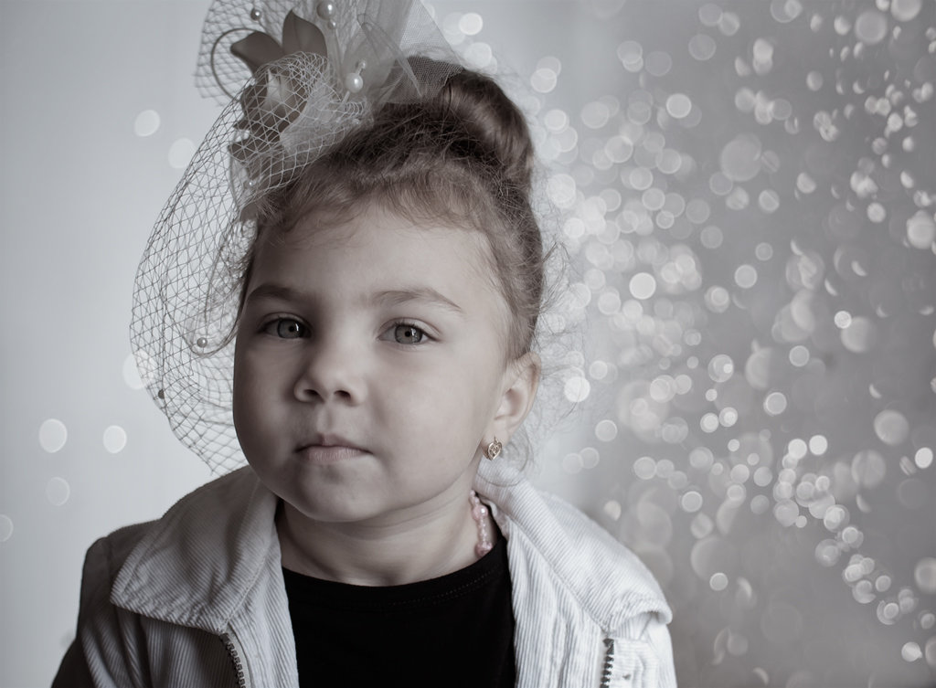 портрет девочки - Тася Тыжфотографиня