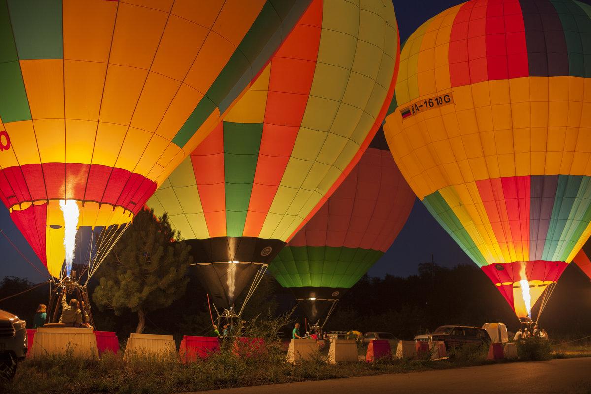 Фестиваль воздушных шаров - Darina Mozhelskaia