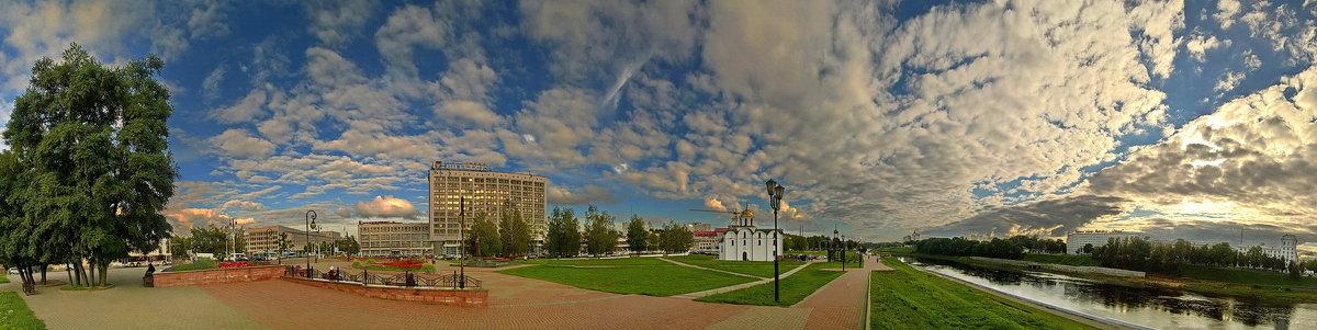 Площадь 1000-летия Витебска. 2016 год - Сергей *Витебск*
