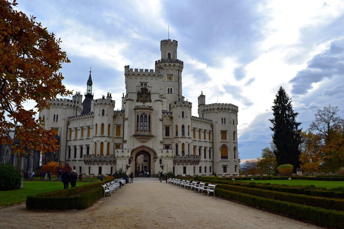 Замок Глубока - Ольга