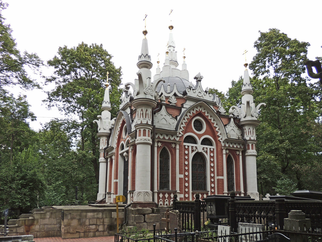 Часовня Николая Чудотворца на Преображенском кладбище. - Александр Качалин