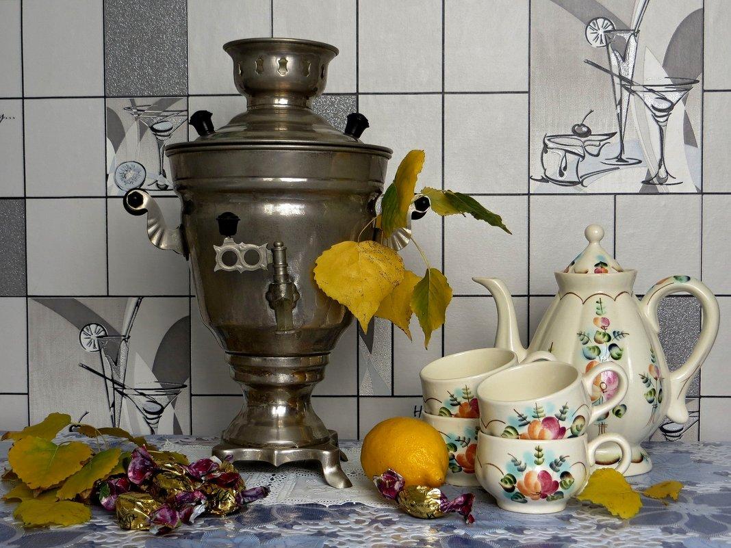 Горячий чай, из самовара - Татьяна Смоляниченко