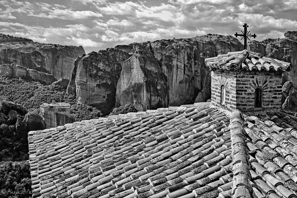 Греция. Монастыри Метеоры - Андрей Левин