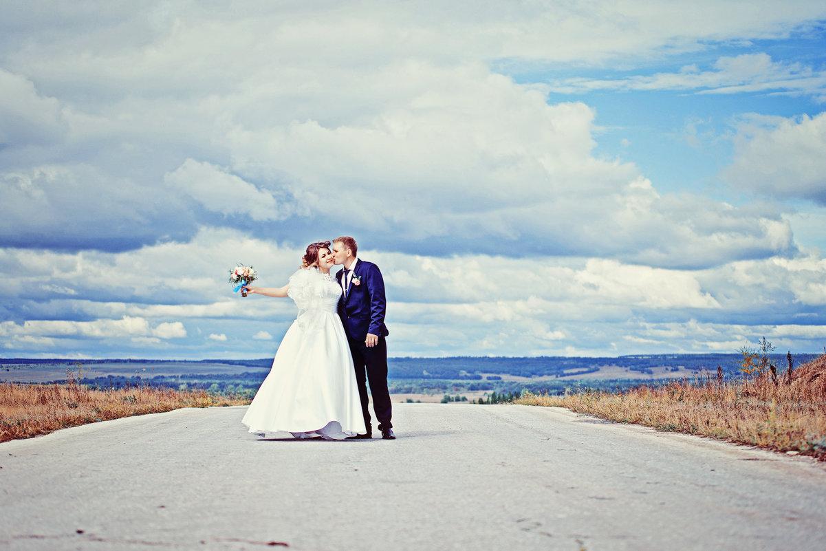 Свадебная фотосъемка прогулки - марина алексеева