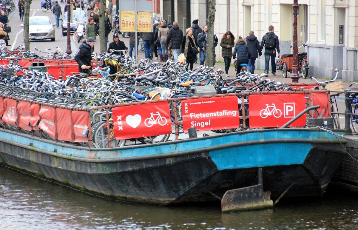 альтернативная парковка для велосипедов:-)) - Olga