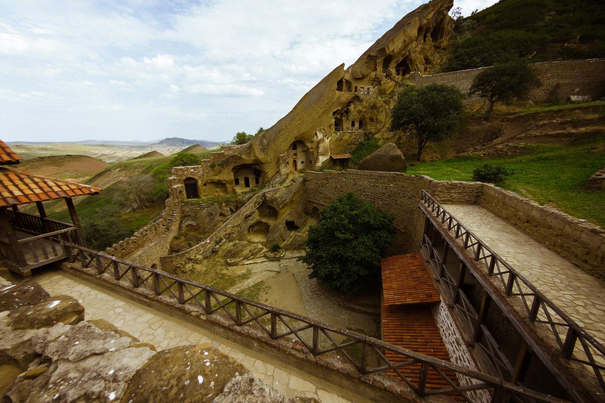 Пещерный монастырь Давид Гареджа - алексей афанасьев