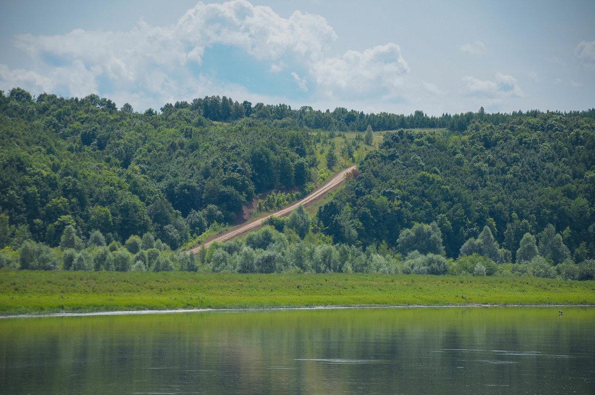 Дорога на зеленом берегу - Сергей Тагиров