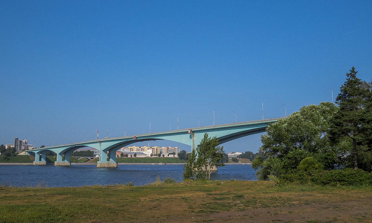 Мост через Волгу - Сергей Цветков