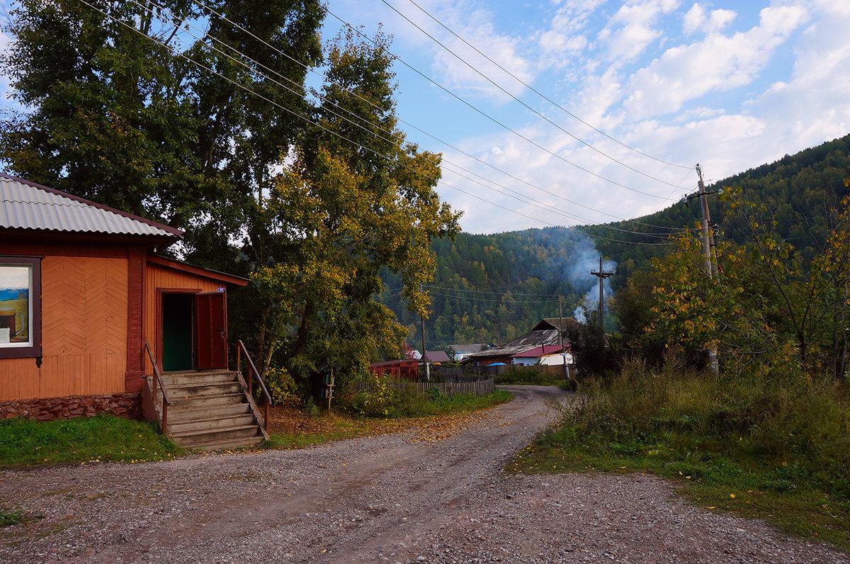 Осень у дверей сельмага - Екатерина Торганская