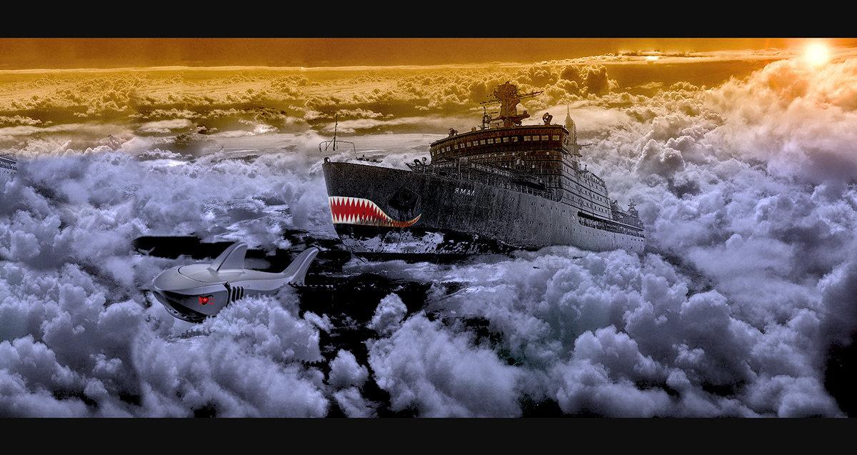 Погоня за механической акулой. - сергей адольфович