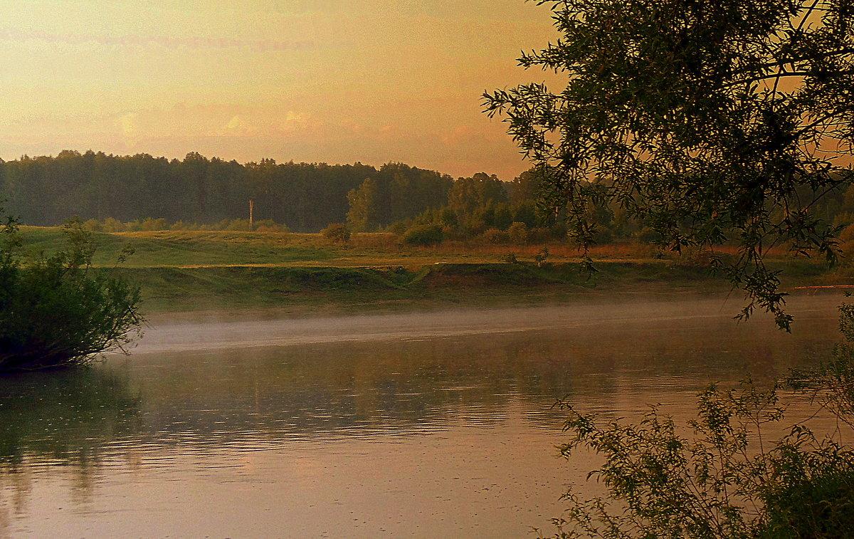 Ранним утром на реке . - Мила Бовкун