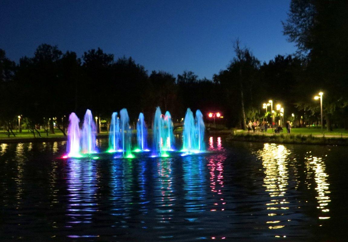 вечерняя Москва - валя