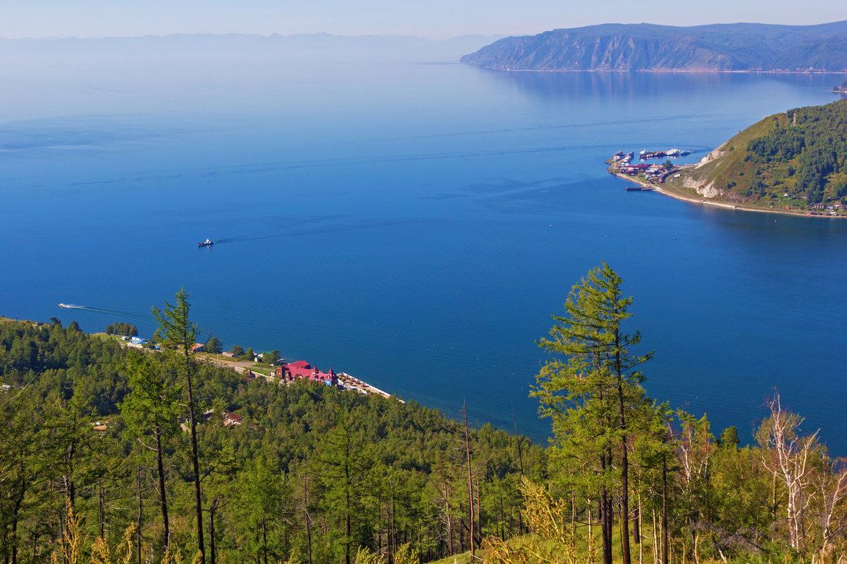 Вид сверху на исток Ангары - Анатолий Иргл