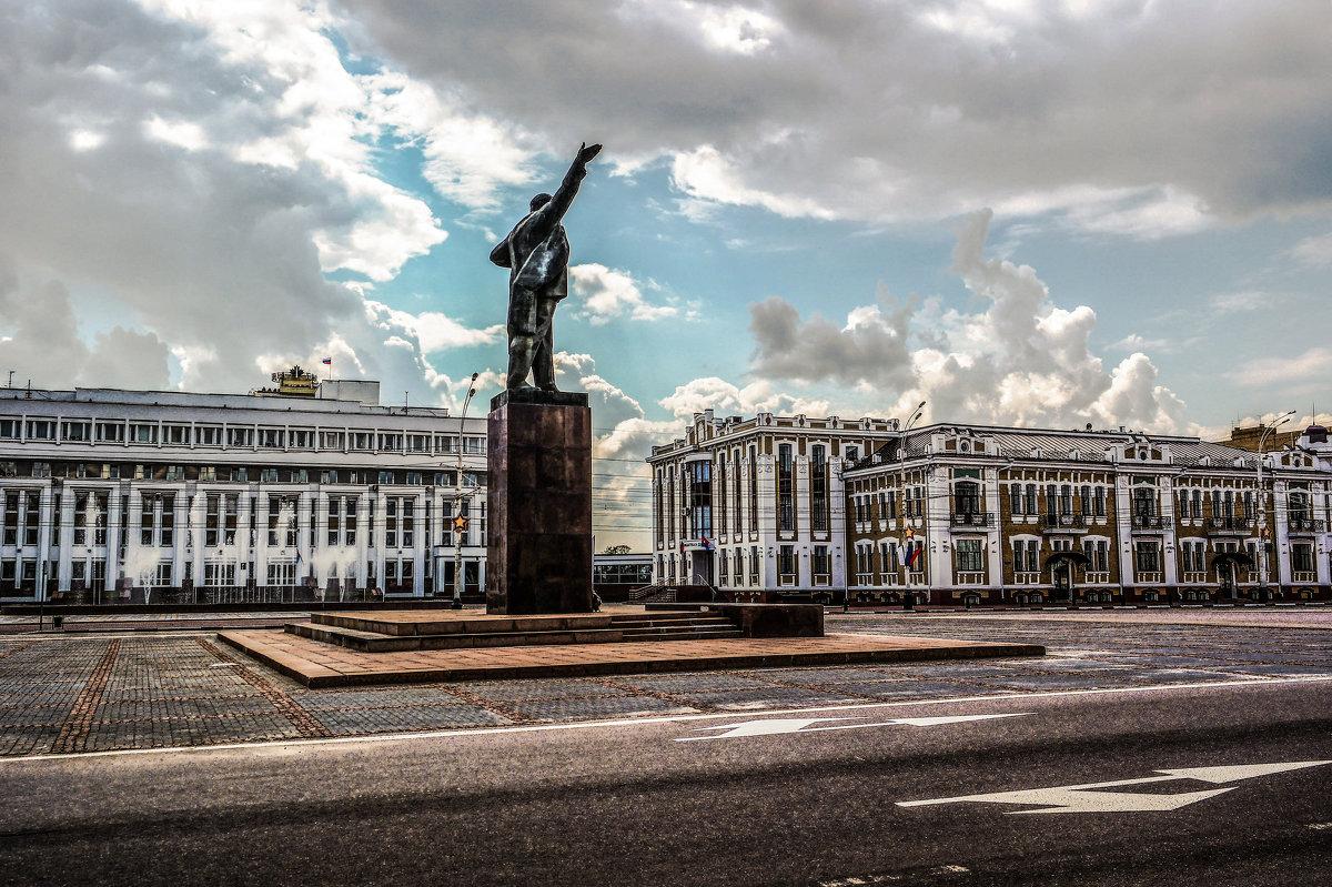 Площадь Ленина в Тамбове. - Александр Селезнев